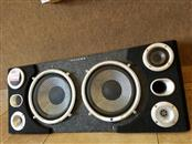 "DUAL ELECTRONICS Speakers/Subwoofer SONDPEX 10"""